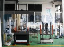 金属材料疲劳试验机车间展示预览图